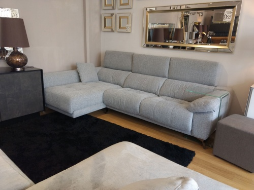 Ania Ex Display sofa with chaise