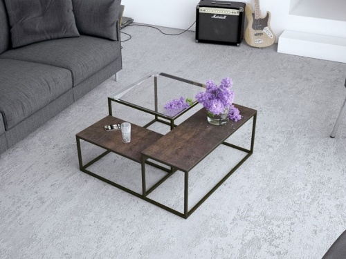 Brasilia ceramic coffee table