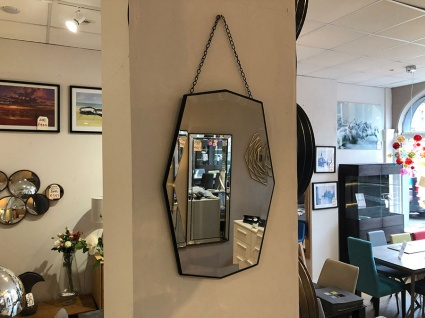 Cullen geometric mirror display 28x43cm