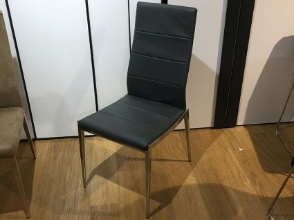 Hermes dining chair in grey display x6