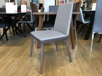 Ayora dining chair in faux leather display x6