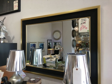 Edmonton rectangle mirror display