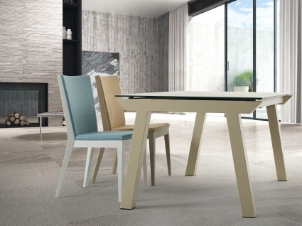 Valencia ceramic ext. dining table
