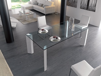 Logic rectangular dining table