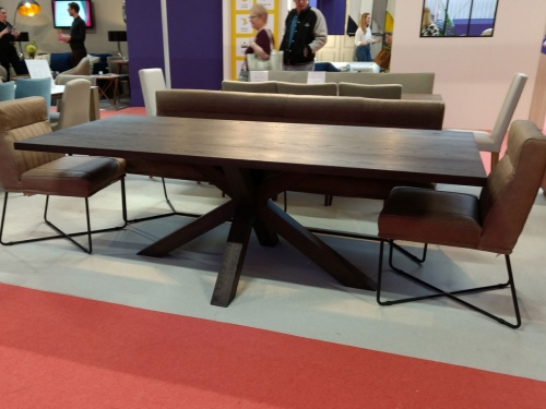 Magnus dining table 220x100, solid oak