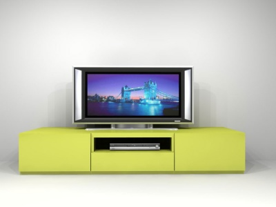 On04 Green TV stand
