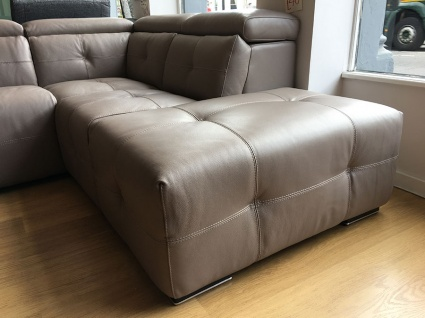 Verona Corner Sofa In Leather 285x218cm