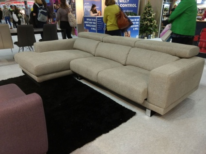 Ex Display Ronda sofa with chaise Elektro Marble