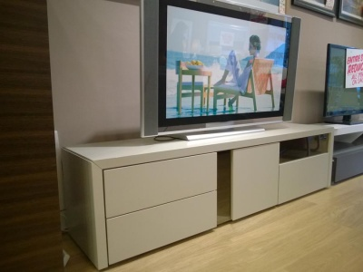NAT E406 TV stand in sand 180cm