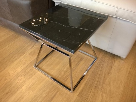 Marble side table 50x50cm