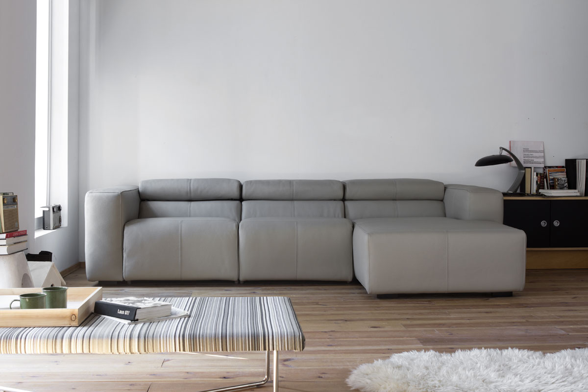 Binari Recliner Sofa With Chaise