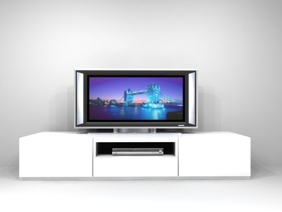 White tv stand joy studio design gallery best design - Tv stand ...