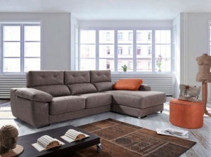 Alba sofa with chaise