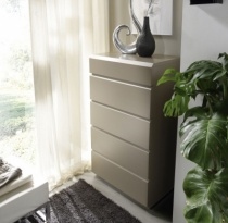 Back tall chest of drawers
