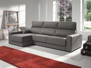 Firenze sofa with storage chaise