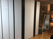 No Limit 4 door wardrobe with handles display