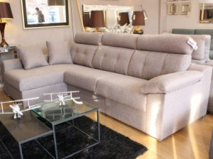 Nero corner sofa bed display 286x170cm