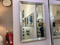 Exeter rectangle mirror display 100x70cm