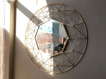 Andromeda round mirror display 88cm
