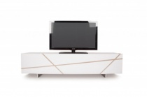 NAT Diagonal TV stand 200cm
