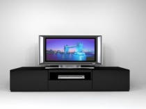 On04 Black TV stand