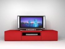 On04 Red TV stand