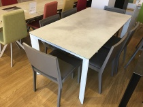 Link ceramic ext. dining table 165/225x90cm display