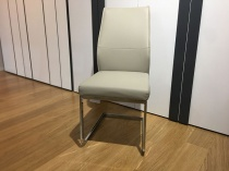 Sara dining chairs in taupe x6