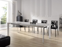 Urban glass dining table
