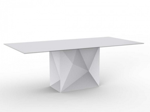 FAZ Outdoor Pedestal Table