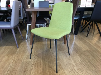 Alava dining chair in fabric display x4