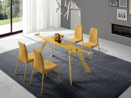Magni Glass extending table