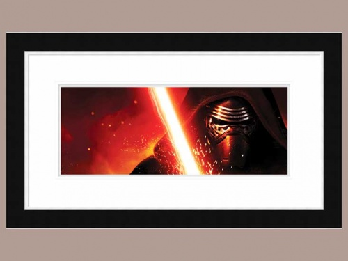 Star Wars Episode VII (Kylo Ren Lightsaber) 64x113cm