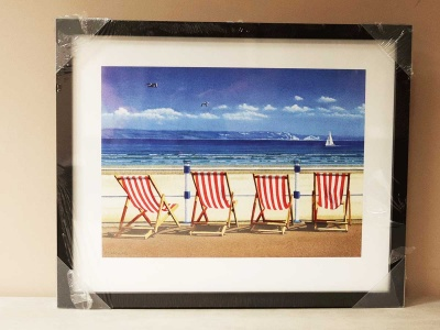 Four Deck Chairs 43x54cm