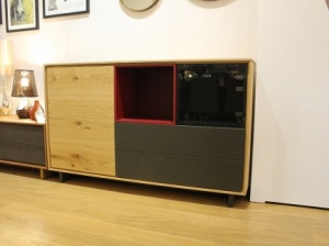 BOOK tall sideboard 156x96cm display