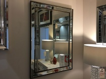 Ashkirk rectangle mirror 105x75cm display