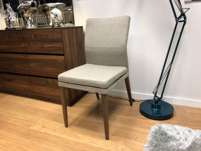 Katy dining chair display set of 3 with bench