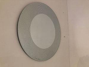 Marilyn round mirror display 50cm
