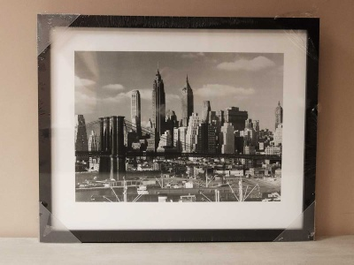 Lower Manhatten Skyline 43x54cm